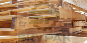 pallet gỗ thông cũ