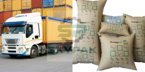 Hình ảnh túi khí chèn hàng container